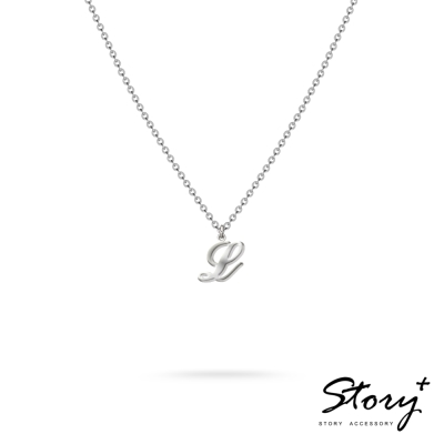 STORY ACCESSORY-字母系列-字母L 純銀項鍊