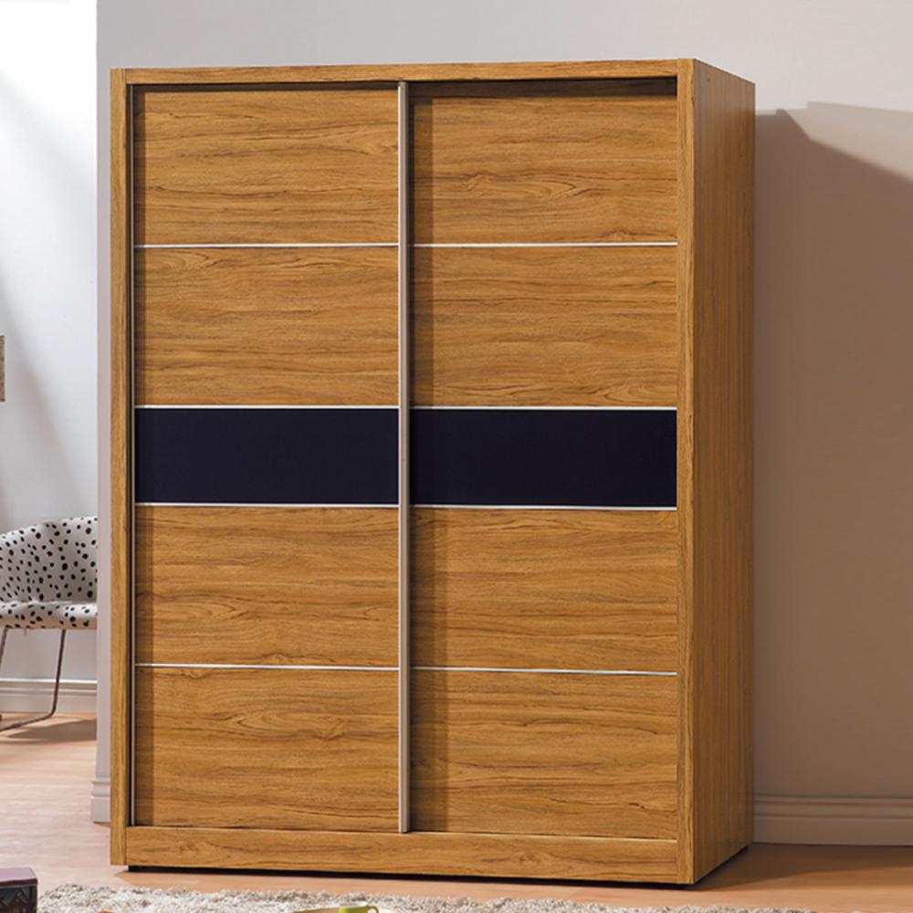 AS-拜倫5尺淺柚木衣櫃-144.8x60.5x197cm