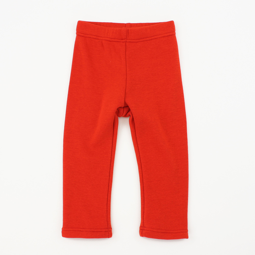 愛的世界 MYBEAR 保暖素色內短刷毛彈性褲/1~3歲