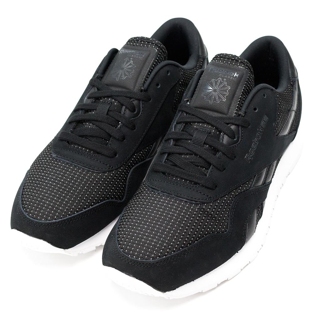 REEBOK-CL NYLON ST男慢跑鞋-黑