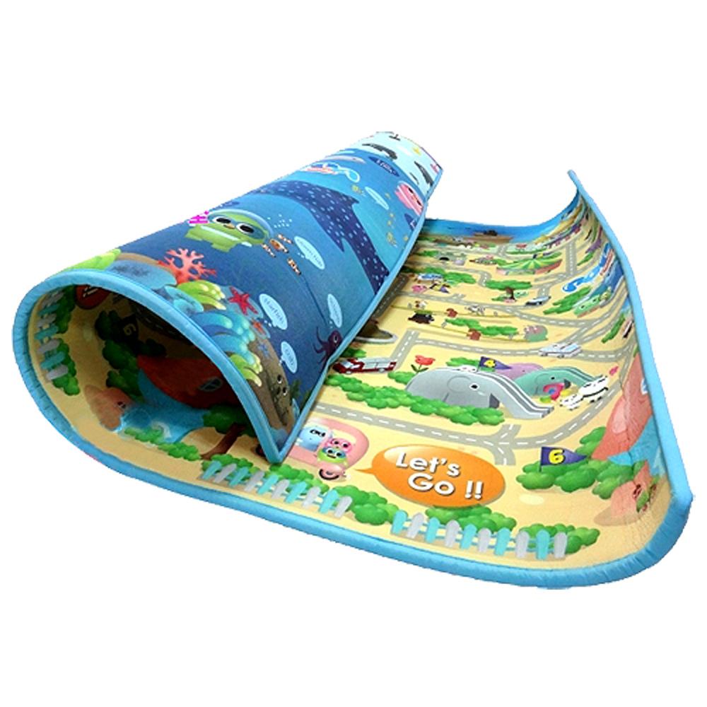 寶貝家 POPA Family 台灣限定圖款 海洋世界+趣味迷宮2cm特厚款