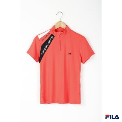 FILA-女立領TEE5TEP-2904-LR