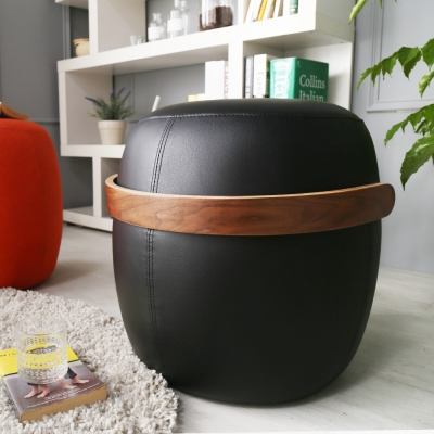 H&D Vanessa 凡妮莎酒桶造型圓凳-47*46cm/多色選