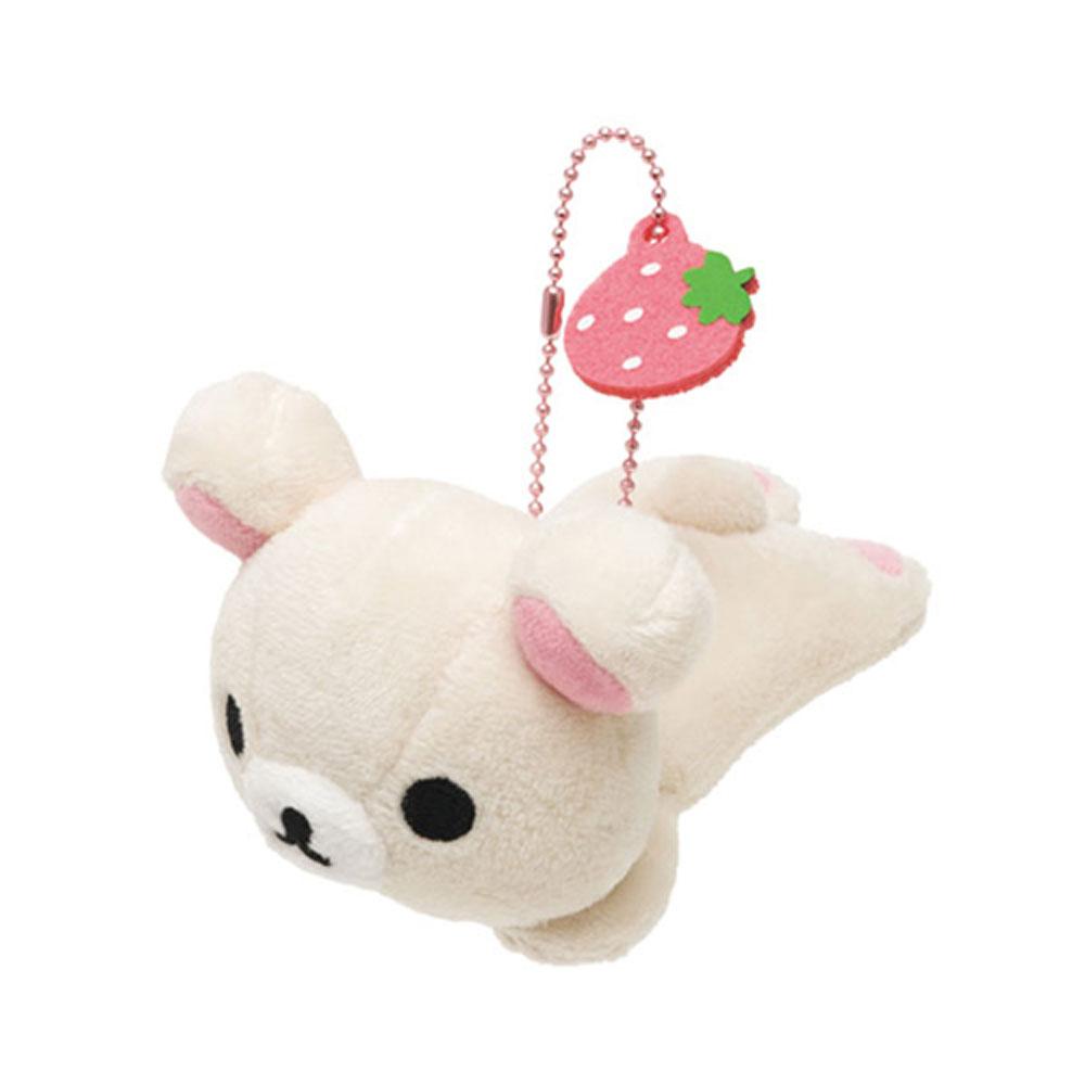 拉拉熊小公仔別針珠鍊吊飾。趴趴懶妹