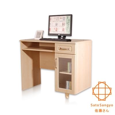 ~Sato~PURE三宅單抽單門工作桌櫃組‧幅88cm~DIY