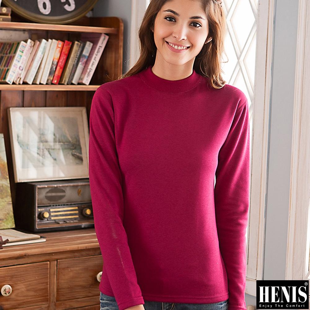 HENIS 2件組時尚經典速暖絨高領媽咪衛生衣