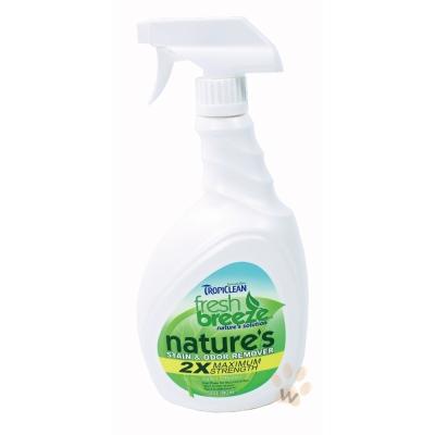 美國Fresh breeze《鮮綠茲.地毯床布類專用》天然除臭去汙劑 32 oz  1 入