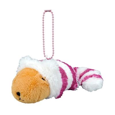 Kapibarasan 水豚君童話故事系列吊飾。水豚裂嘴貓