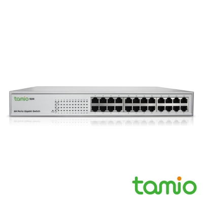 TAMIO S24 24埠機架式Giga高速乙太網路交換器