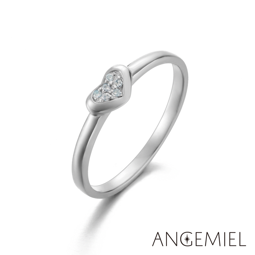 Angemiel安婕米 925純銀戒指 跟隨你的心