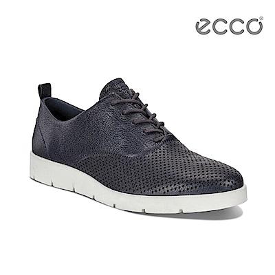 ECCO BELLA 簡約輕巧休閒鞋-藍