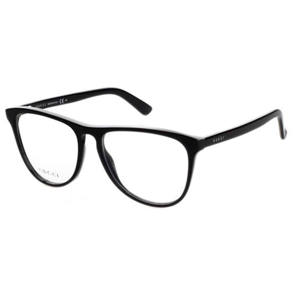 GUCCI-時尚光學眼鏡(黑色)