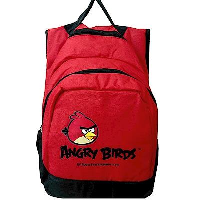 Angry Birds 憤怒鳥雙層多功能後背包(紅黑)