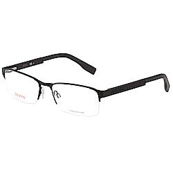 BOSS 半框 光學眼鏡 (黑色)BO0296F