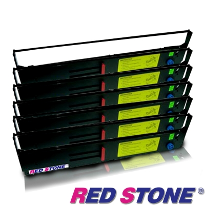 RED STONE for PRINTEC PR9370/ OKI8570色帶組(6入)