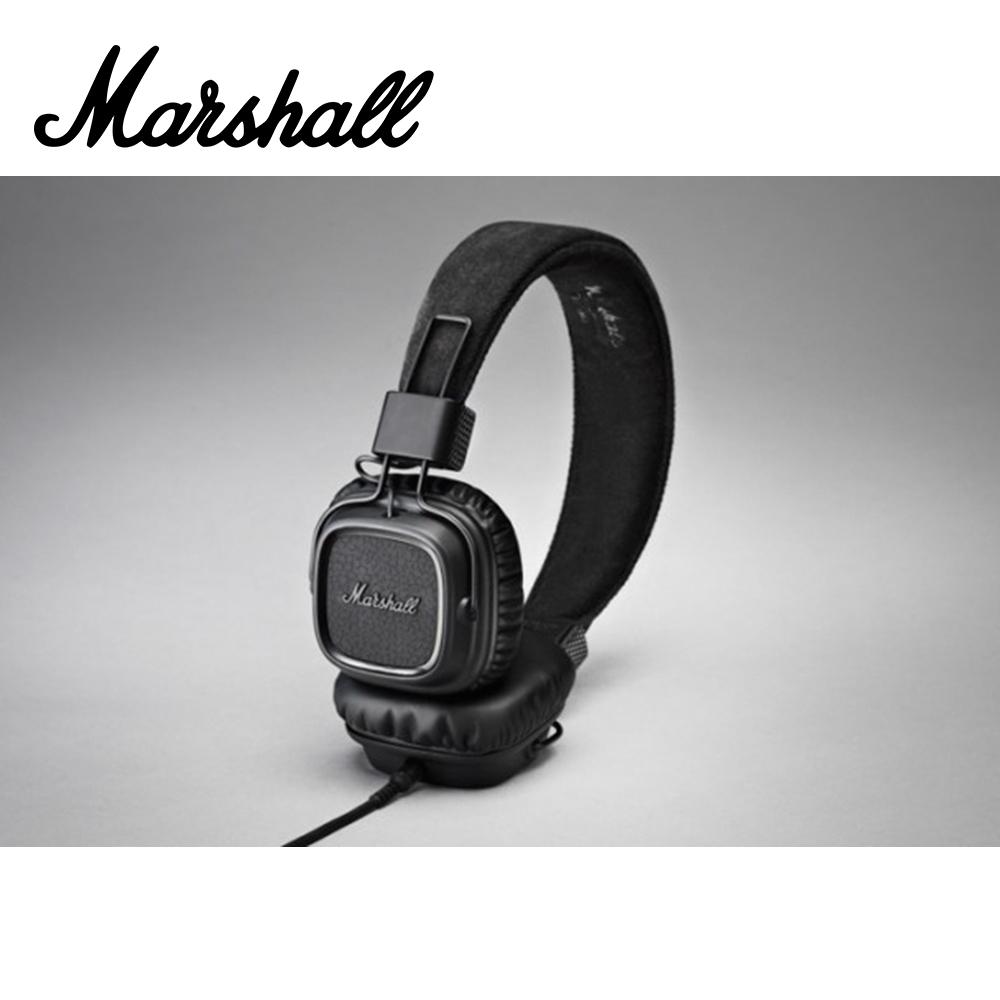 MARSHALL Major II Pitch Black 耳罩式耳機 瀝青黑款