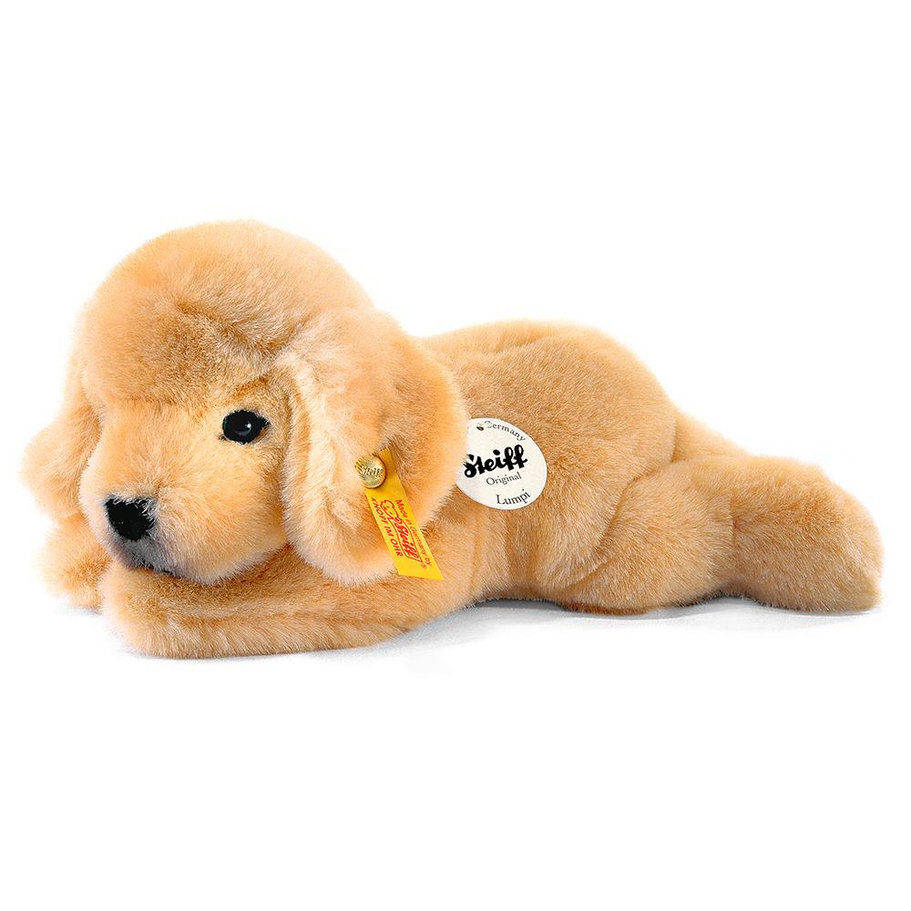 STEIFF德國金耳釦泰迪熊 - 寵物樂園 Puppy Lumpi  (22cm)