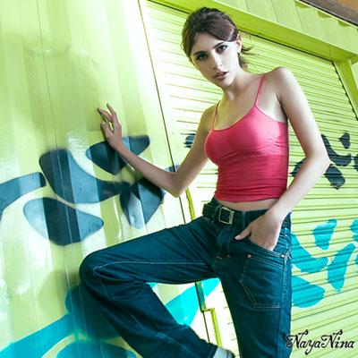 無鋼圈內衣 無縫透氣背心內衣S-XL(深粉) Naya Nina