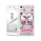 三麗鷗Hello Kitty貓 SONY Z5 Premium 空壓防震殼(Twins)