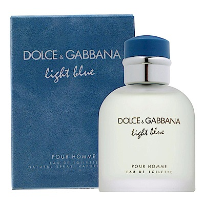 D&G Dolce&Gabbana Light Blue 淺藍男性淡香水 75ml
