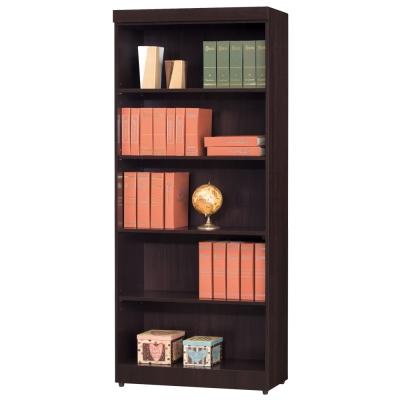 時尚屋 長榮2.6尺開放書櫃 寬80cm 多色可選
