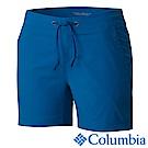 Columbia 哥倫比亞 女款-防曬50防潑短褲- 藍色 (UAR40140BL)