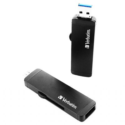Verbatim 威寶 OTG 128GB USB3.<b>0</b> 雙介面商務高速隨身碟