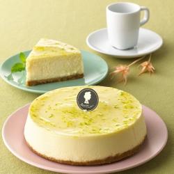 搭啵s 檸檬原味重乳酪蛋糕(6吋)(蛋奶素)