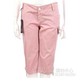 YES LONDON 粉紅色休閒款五分褲