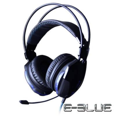 E-Blue Cobra II HS 眼鏡蛇耳機 發光耳機麥克風 EHS014BK