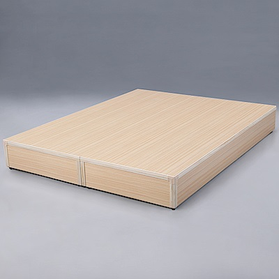 Homelike 麗緻5尺雙人床台(四色)-151x188x24cm