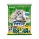 日本Unicharm消臭大師尿尿後消臭貓砂-綠茶香5L product thumbnail 1