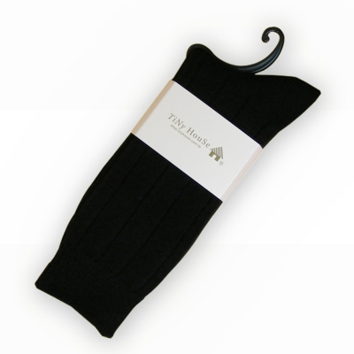 TiNyHouSe保暖羊毛襪 黑色2入