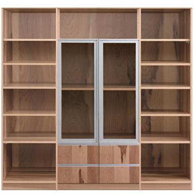 aaronation 雷思克設計師180~240cm鋁框玻璃抽屜收納櫃-量身訂製系統家具