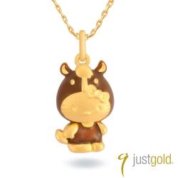 鎮金店Just Gold 黃金吊墜 Kitty百變Cutie十二生肖(馬)