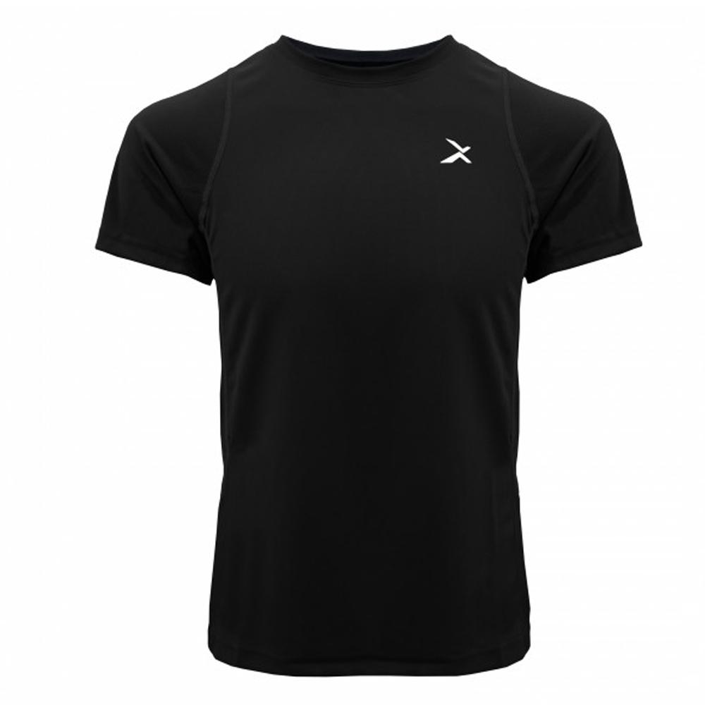 EGXtech EDS-EXT 男款涼感單導排汗短袖(黑)