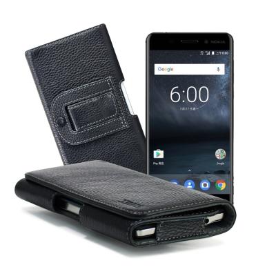 XM Nokia6/小米Note2/紅米Note4X/A7(2017) 麗緻真皮腰掛皮套