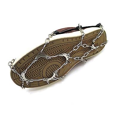 糊塗鞋匠 優質鞋材 G111 10齒鍊條雪地防滑鞋套(雙)