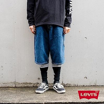 牛仔短褲 男裝 復古寬褲 銀標Silver Tab 系列 - Levis