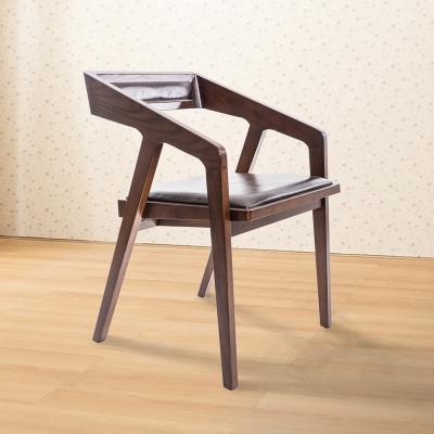 Jiachu 佳櫥世界-Gill吉兒實木餐椅/二色-寬53X深53X高74公分