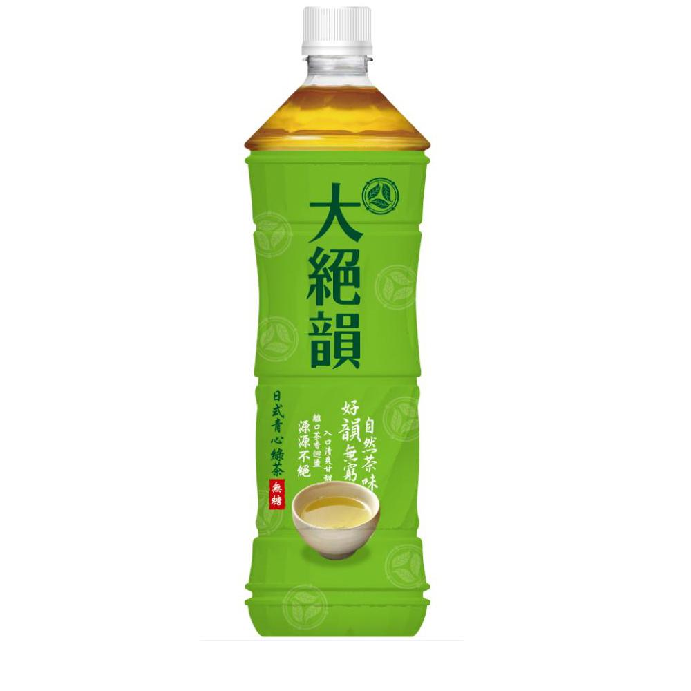 大絕韻 日式清心綠茶(1250mlx12入)