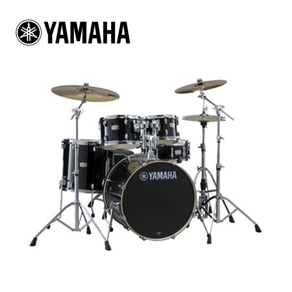 YAMAHA Stage Custom 爵士鼓組 經典黑色款