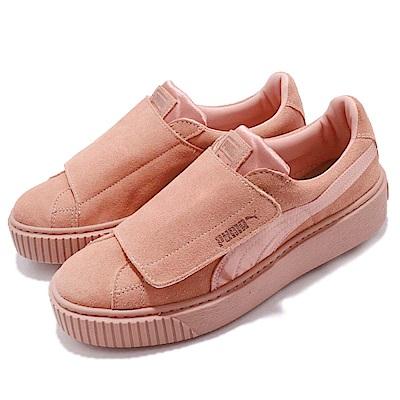 Puma Platform Strap Satin EP 女鞋