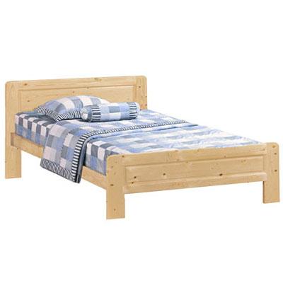 ★超低特價★ 愛比家具 經典松木實木雙人床架