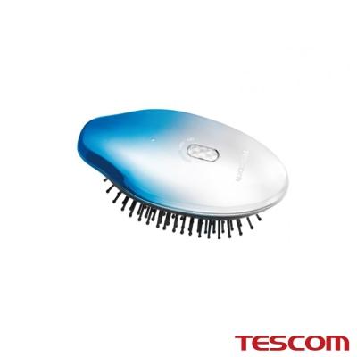 TESCOM 負離子音波振動髮梳TIB10TW  湖藍色