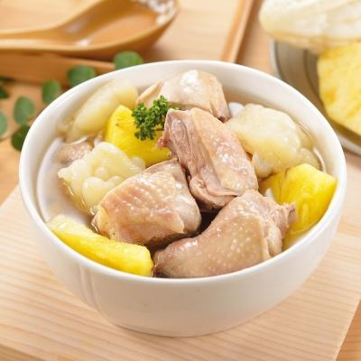 (任選)艾其肯養生雞湯 鳳梨苦瓜雞(450g/包)