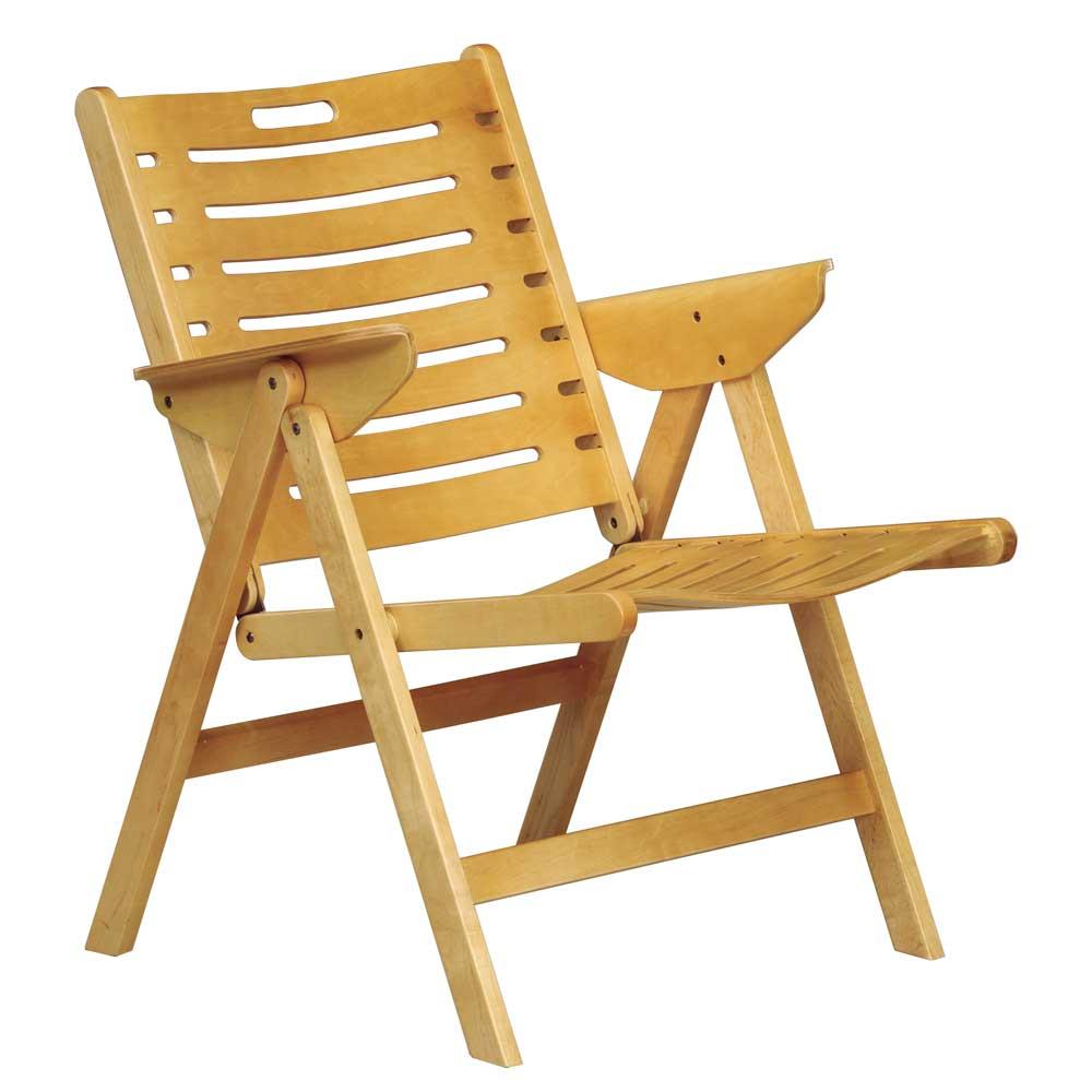 樂舒Lax 實木休閒椅/折合椅/(二色可選)