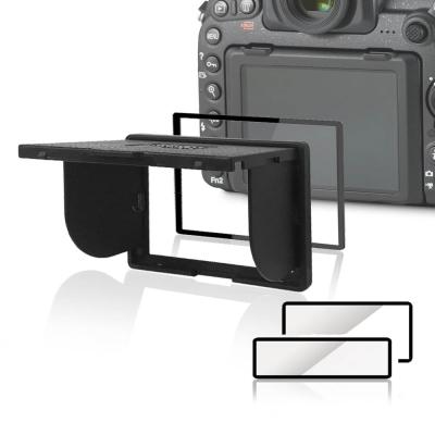 LARMOR V金屬邊框防爆鋼化玻璃相機保護貼-Canon EOS 1DX/1DX II