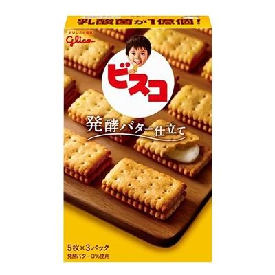 Glico格力高 奶油夾心餅乾(65.1g)
