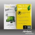 Antec 螢幕鍍膜擦拭巾 100%天然(攜帶包)20入